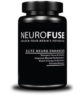 Neurofuse Powerful Focus & Memory Nootropic Pill – Formula Helps Support Memory, Cognitive Function, Focus & Clarity –Reduce Brain Fog & Fatigue 30 Capsules