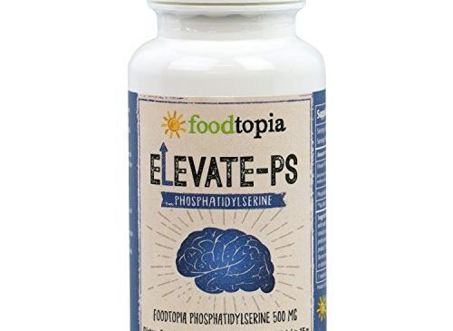 Premium Brain Memory Booster Nootropic Propriety Korea Blend of Elevate-PS Phosphatidylserine Complex (30 Gel Caps Supplement) for Cognitive function boost. Increase Focus, Clarity, and Mind.