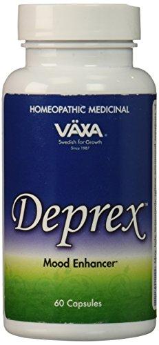 VAXA Homeopathic Medicinal Deprex, Mood Enhancer , 60 capsules