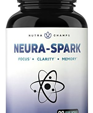 Premium Brain Supplement for Focus, Memory, Energy, Clarity – Nootropic Brain Booster Scientifically Formulated for Optimal Mental Performance – Ginkgo Biloba, St John's Wort, DMAE, Rhodiola & More