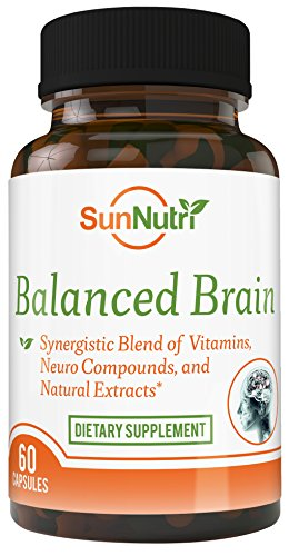 Brain It On – Mental Health Nootropic Supports Anxiety Relief, Focus, Memory, Clarity, Concentration, Cognitive Health, Alertness, A Brain Booster, Stress Relief, Focus Supplement, Cognitive Enhancer