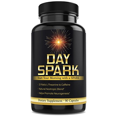 Nootropic Supplement for Optimal Energy and Focus by Day Spark