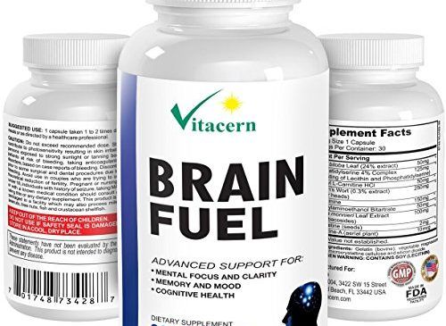 #1 Best Brain Supplement – Memory Enhancement and Mental Focus Formula – Natural Pure Nootropics To Improve And Boost Brain Power, Mind, Concentration & Energy For Healthy Brain Function & Support