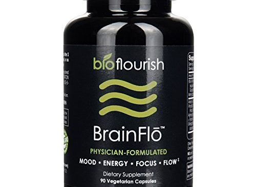 Nootropic Energy and Focus Brain Supplement: Non GMO Natural Cognitive Enhancement Pills for Mood, Memory, Mental Clarity, Concentration & Flow – Daily Brain Boosting Support Supplements – 90 Capsules