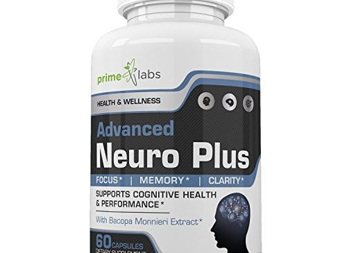 Advanced Brain Supplement Support Booster – Memory, Focus and Clarity Formula – Nootropic Pills for Performance, Mood and Anti Anxiety, Helps Reduce Stress and Relax – 60 Capsules