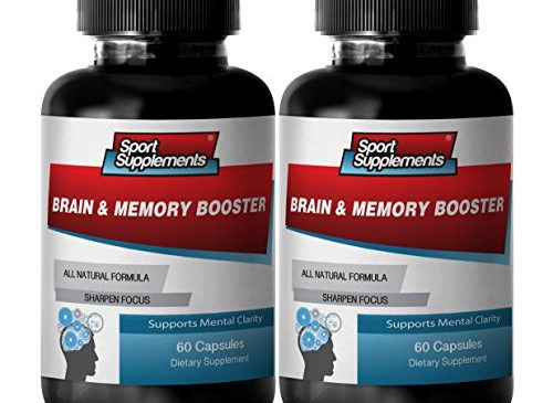 Brain Booster for Adults – Brain and Memory Booster – Improve Creativity and Clarity with Brain and Memory Supplement (2 Bottles 120 Capsules)