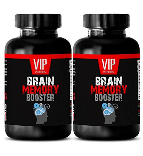 Brain and nervous system tonic – BRAIN MEMORY BOOSTER (POWERFUL FORMULA) – St johns wort and ginko biloba – 2 Bottles 120 Capsules