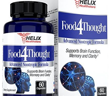 Brain Booster Support Supplement – Best for Mental Focus and Energy Pills – Super Ginkgo Biloba Capsules – St Johns Wort – Bacopa Monnieri – DMAE – Extra Strength Nootropics to Boost Memory & Clarity