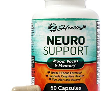 Extra Strength Brain Function Booster Supplement for Focus, Clarity, Memory Enhancer – Mental Performance Nootropic – Physician Formulated with Bacopa Monnieri, DMAE, L-Tyrosine, Green Tea Extract