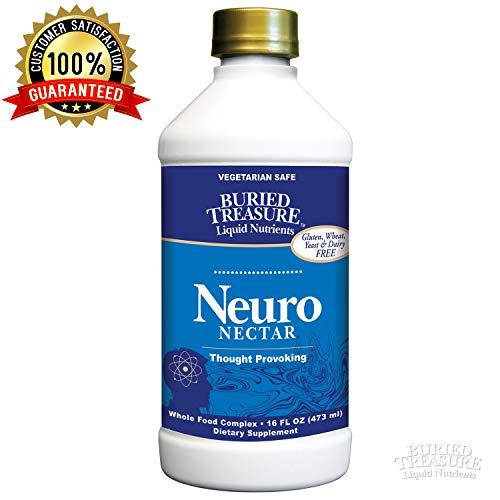 Buried Treasure Neuro Nectar Memory and Mental Focus Supplement 16 oz